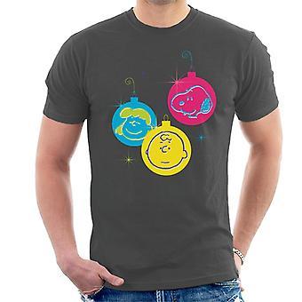 Erdnüsse Weihnachten Kugeln Trio Men's T-Shirt