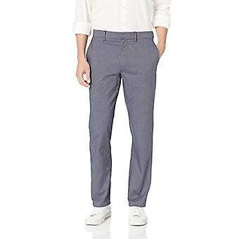 Merkki - Goodthreads Men's Slim-Fit Modern Comfort Stretch Chino Pant, Navy, 31W x 32L