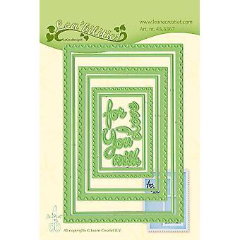 リーン・クレアティーフ・リー・ビリティ郵便切手フレーム