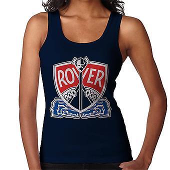 Rover Logo met border British Motor Heritage Women's Vest