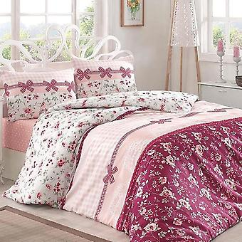 Europe Style Luxury Bed Linen Cotton Print Bedding Sets