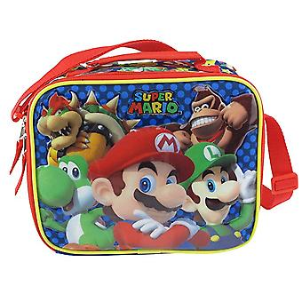 Lunch Bag - Super Mario Bros - Mario Madness New 211237