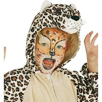 Leo Leopard Kids Costume Wildcat Animal Safari Costume