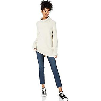 Brand - Goodthreads Women's Boucle Turtleneck Sweater, Oatmeal Heather...