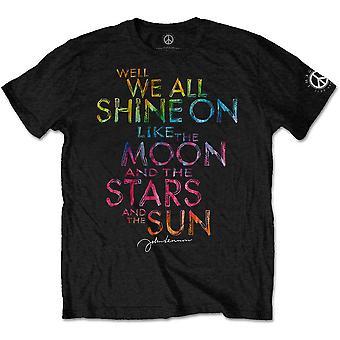 John Lennon Shine On Official Tee T-Shirt Unisex