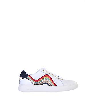 Paul Smith W1slap43enyl01 Kvinnor's vita läder sneakers