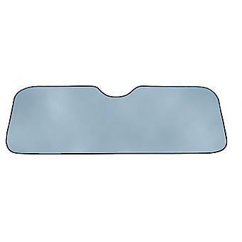 zonnescherm 130 x 60 cm zilver