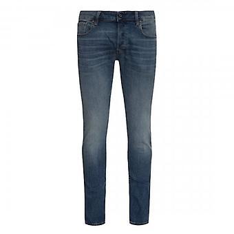 G-Star Raw 3301 Slim Vintage Medium Aged Blue Jeans 51001 8968 2965