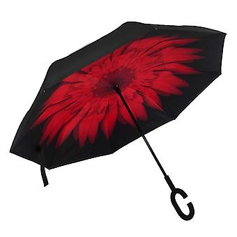 Fancytime Reverse Folding Double Layers Rain Umbrella