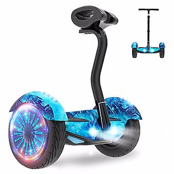 Led Ipx4 Smart Electric Balance Car/scooter 20km With Bluetooth Music