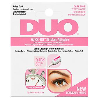 DUO Quick Set Professional Strip False Eyelashes Adhesive - 7g Dark Tone