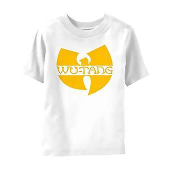 Wu Tang Clan Kisgyermek Póló Logo új hivatalos fehér 3 hónap 2 év
