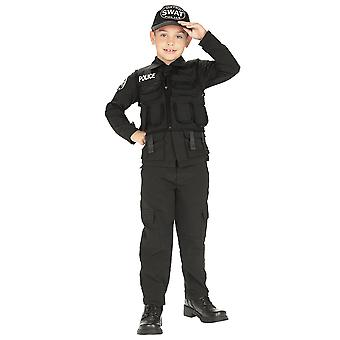 S.W.A.T SWAT Poliisi Poliisi Sotilaskomentaja Varaa Viikko Taapero Pojat Puku 2-4