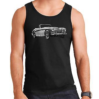 Austin Healey Grey British Motor Heritage Men's Vest