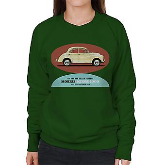 Morris Minor 1000 Its The Car Called Success British Motor Heritage Women's Sweatshirt