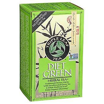 三叶茶迪特尔的绿色草药茶,20袋