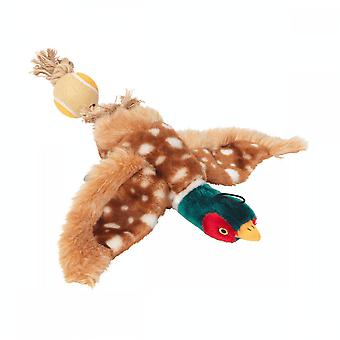 Battles House Of Paws Toy With Tennis Ball Tail - Pheasant