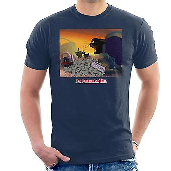 An American Tail Cossack Cat Popcorn Men's T-Shirt