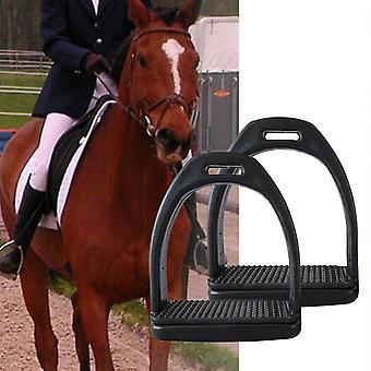 Kinderen volwassenen duurzaam paardrijden stijgbeugels, lichtgewicht, wide track anti