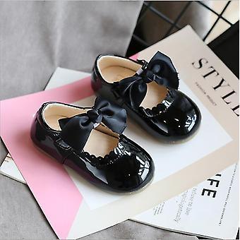 Baby Kisgyermek Aranyos puha bőr cipő / lapos cipők
