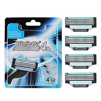 4 Layer Shaving Razor Blade