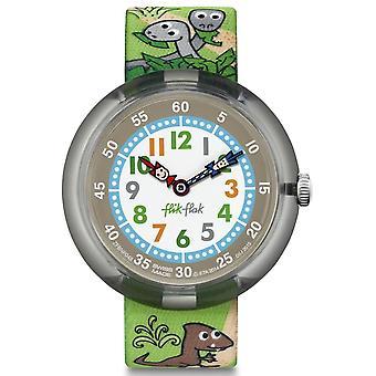 Flik Flak Fbnp048 Sauruses Return Textile Watch