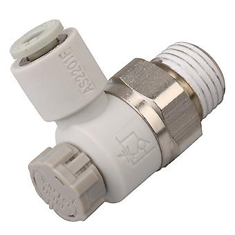 Pneumatic Air Speed Control Valve Fitting Connector 4mm AS2201F-02-04SA