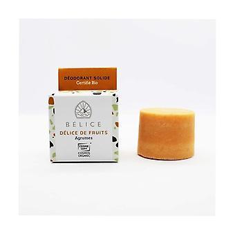 Organic solid deodorant - Fruit delight 38 g
