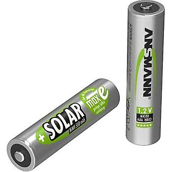 Ansmann HR03 Solar maxE AAA battery (rechargeable) NiMH 550 mAh 1.2 V 2 pc(s)