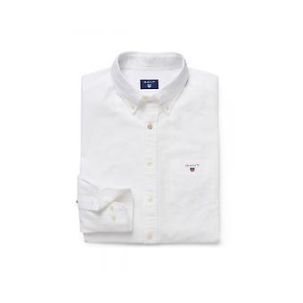 Gant Oxford säännöllinen istuvuus painike alas paita valkoinen
