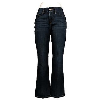Lee Women's Jeans Boot Cut Leg Zip & Button Closure w/ Pockets Blue