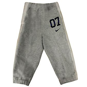 Nike 07 Infants Baby Unisex Joggers Fleece Bottoms Grey 404438 063 A57C