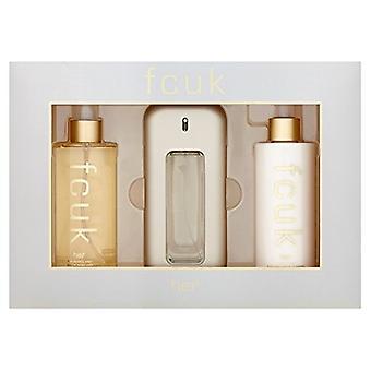 FCUK FCUK Gift Set Gift Set 100ml EDT + 250ml Body Lotion + 250ml Fragrance Mist