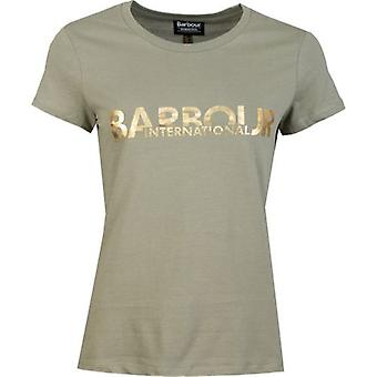 Barbour International Delta Foil Logo T-Shirt