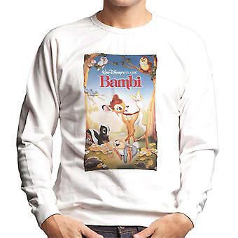 Disney Bambi Classic Poster Design Men's Sweatshirt
