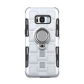 TPU shell case met standaard voor Samsung Galaxy S10 + / S10 Plus / S10 Plus