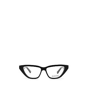Balenciaga BB0128O نظارات الأنثى السوداء