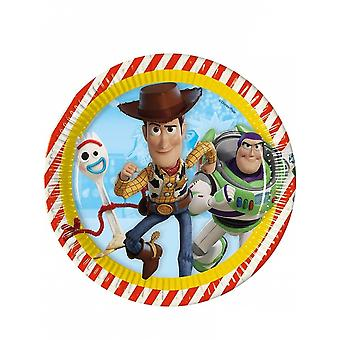 Party boards Toy Story 23 Cm 8 Pieces Multicolored