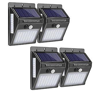 Outdoor Lighting 100 Led Solar Wall Light & Lamp Led With Pir Motion Sensor
