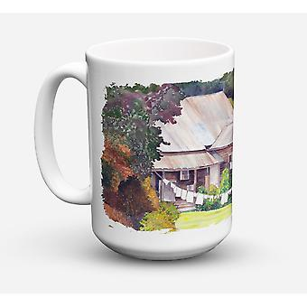 Caroline's Schätze 8741CM15 Waschtag Geschirrspüler safe Microwavable Keramik Kaffeebecher, 15 Unzen, Multicolor