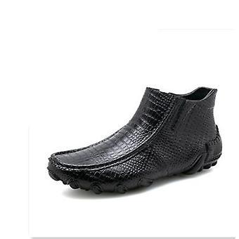 Men Spring/winter Warm Plush Boots