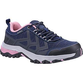 Cotswold kvinner's wychwood lav wp walking trener marine/rosa 31336