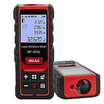 Noyafa nf-272l laser distance meter 60m 80m 100m rangefinder tape range finder measure device digital ruler test tool