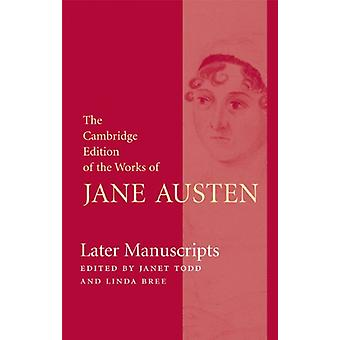 Later Manuscripts by Jane Austen - 9780521843485 Book
