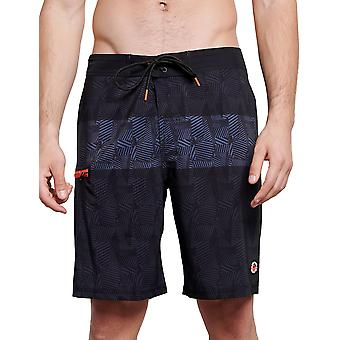 Funky Buddha Men's All Over Printed Board Shorts