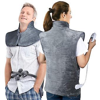 Electric Heating Pad, Gerui Heating Wrap 24'' x 39'' Warmer Heat Pads for Neck Shoulders Back, Pain