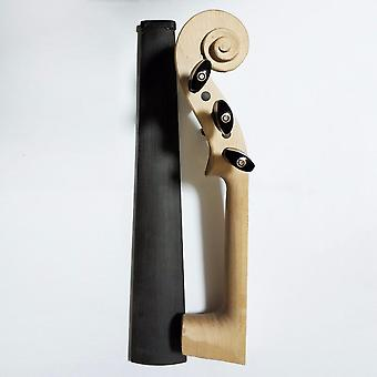 5 String Stradivarius 4/4 Maple White Violin Neck Nut Pegs