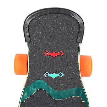 Skateboard Deck Guards, Protector U Design, Rubber Bumpers, Bump Long Board,