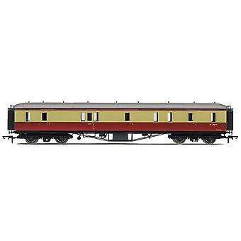 Hornby del ferrocarril BR Hawksworth pasarela pasajeros freno de Coach - pre 1956