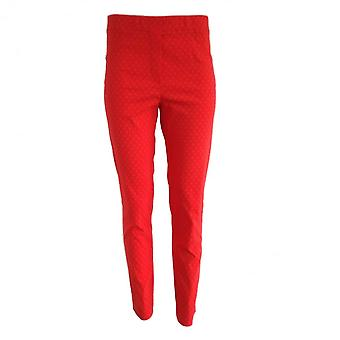 LATTE Latte Cropped Trouser In Navy White Black Or Red T7002